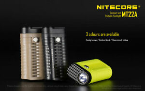 New Nitecore MT22A 260 Lumens Compact, Portable Torch (UK Official Dealer)