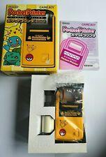 Nintendo Pocket Printer Pokemon Pikachu Yellow Game Boy Japan L Edt  Collectors