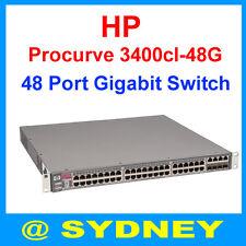HP Procurve 3400cl-48G J4906A 48-Ports 1000Mbps Gigabit Network Ethernet Switch