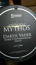 Sideshow Collectibles Mythos Star Wars Darth Vader Statue