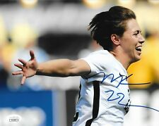 Meghan Klingenberg Thorns NWSL signed Team USA Womens Soccer 8x10 photo JSA 2