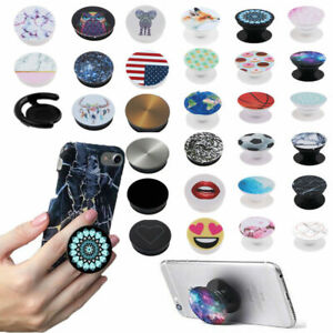 NEW Universal POP Up Socket Phone Grip Holder Expanding Stand For Mobile Phone