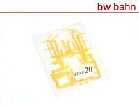 Kibri H0 Bausatz 4100-20 Lademaß Neu