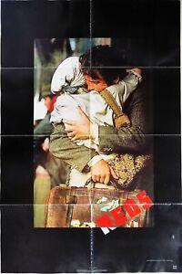 Reds 1981 Warren Beatty Diane Keaton Original US One Sheet Poster