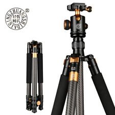 Q1088C Portable Carbon Fibre Tripod Monopod,Ball Head For Digital DSLR Camera