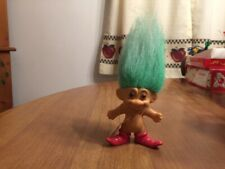 Vintage Merry Little Trolls Russ Christmas Elf - 2 3/4""
