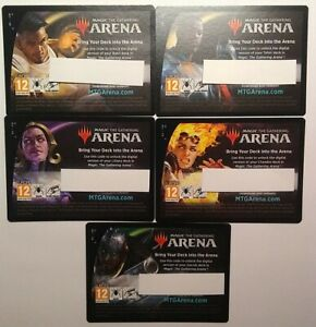 MTG Arena Core 2021 Planeswalker Deck Redemption Codes - CODE CARD ONLY