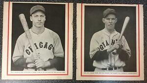 1930's Baseball Magazine Trimmed Lot Of 12   Originals   ARN2193*c
