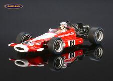 McLaren M7A Cosworth F1 10° GP Holland 1969 Vic Elford, Spark 1/43, S3126