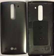 LG Black Battery Cover For LG Spirit Titan H440N (Back Cover)