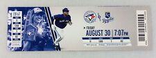 MLB 2013 08/30 Kansas City Royals at Toronto Blue Jays Ticket-Mark Buehrle WP