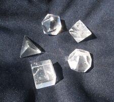 Platonic 5pc Set Clear Quartz