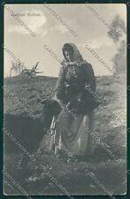 Biella costumi capra cartolina QQ6339