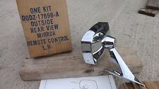 NOS 1970 1972 Ford Maverick REMOTE CONTROL MIRROR Left Original OEM