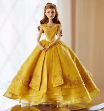"""**NEW Disney Store Beauty & The Beast Live Action Belle Limited Edition 17"""" Doll"""