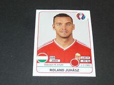 663 ROLAND JUHASZ VIDEOTON FC HONGRIE MAGYAR PANINI FOOTBALL UEFA EURO 2016