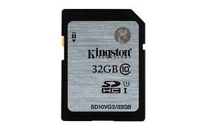 Kingston Technology SD10VG2/32GB 32 GB UHS Class 1/Class 10 SDHC Black/Grey