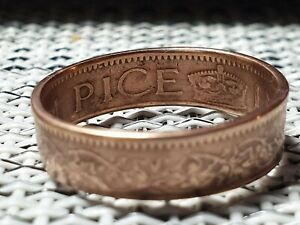 INDIA  PICE COIN RING