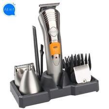 Men Hair Trimmer Rechargeable Face Groomer Beard Removal Shaving Stubble Machine