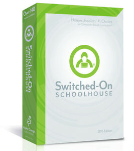 SOS Switched On Schoolhouse Language Arts Grade 4 2016 NEW With Installation CD