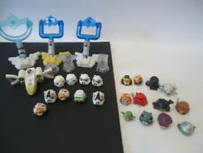 Lot Of 21 Angry birds telepods Star Wars Mini Figures PVC Mixed Lot Launchers