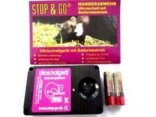 STOP &GO Marderabwehr Marderschreck Ultrallgerät ohne Einbaukosten / Batterie