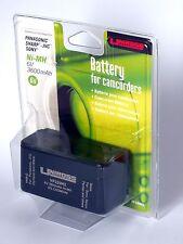 Batteria Ricaricabile Uniross VP320H2 Sony NP-98 Panasonic VW-VBS1 JVC BN-V400