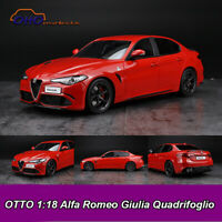 OTTO 1:18 Alfa Romeo Giulia Quadrifoglio Resin Model Car Collection New In Box