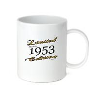 Coffee Cup Mug Travel 11 15 Birthday Limited Edition Made Born In 1953