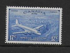 1946 Canada 17c Ultramarine AIR SG S17 lightly mounted mint