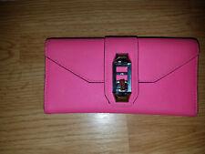 Rebecca Minkoff Women's Bright Pink Leather Wallet