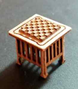 1:48 INCH TABLE AND CHECKERBOARD, KIT