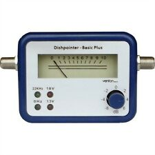 Satfinder Basic Plus - Sat Finder Digital Analog Signal Satellite Dish Alignment