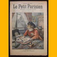 LE PETIT PARISIEN Supplément littéraire illustré Guerre Boers 12 janvier 1902