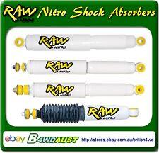 Raw 4x4 Nitro Rear Shock Absorbers Mitsubishi Pajero NM, NP, NS, NT