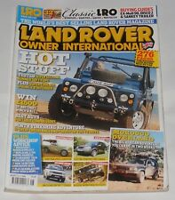 LAND ROVER OWNER INTERNATIONAL AUGUST ISSUE NUMBER 9 2010 - 7 SUMMER SOFT TOPS