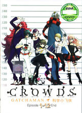 Gatchaman Crowds DVD 1-12 Anime Collection (Anime) NEW US Seller Ship Fast