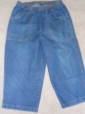 HABAND'S LADIES DENIM CAPRI  SIZE 10 PETITE
