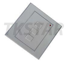 433,92Mhz Rolling Code HCS301 Funk Wand Taster Schalter Handsender Fernbedienung