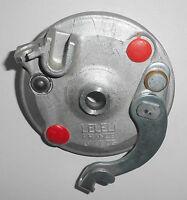 Bremsankerplatte LELEU 80mm Bremse Puch Kreidler Peugeot Mobylette Mofa + Moped