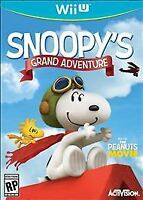 Peanuts Movie Snoopy's Grand Adventure (Nintendo Wii U) Brand New Factory Sealed