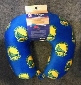 Golden State Warriors Pegasus Relaxation Travel Neck Pillow Soft TSA Approved
