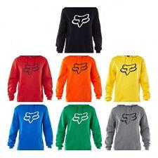 Fox Racing Mens Legacy Pullover Hoodie MTB Motor Sweatshirt Jumper Jacket S-XXL