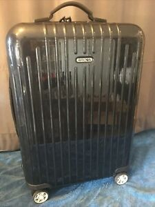 """Rimowa Salsa Air 20"""" Carry On Made in Canada Multiwheel Midnight Blue Luggage"""