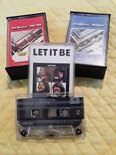 The Beatles 1967-1970, Let it Be, & 1962-1966 Vintage EMI Records Ltd Cassettes