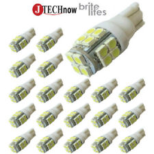 Jtech 20x T10 20 SMD LED White Super Bright Car Lights Bulb 194,168,2825,W5W