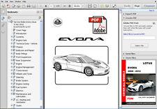 service & repair manuals circuit diagram car & truck manuals lotus evora  2009-2012 factory service
