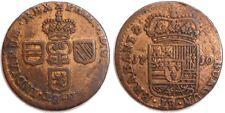 PAYS-BAS ESPAGNOLS - Philippe V - Liard 1710 Namur (VH 0749, var. 1)