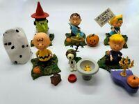 Memory Lane Peanuts The Great Pumpkin Lot of 6 Figures Loose Charlie Brown Linus