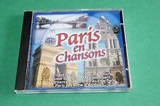 """CD """"PARIS EN CHANSONS"""" COMPILATION 22 TITRES / SONY, 2000 - T. B. ÉTAT"""